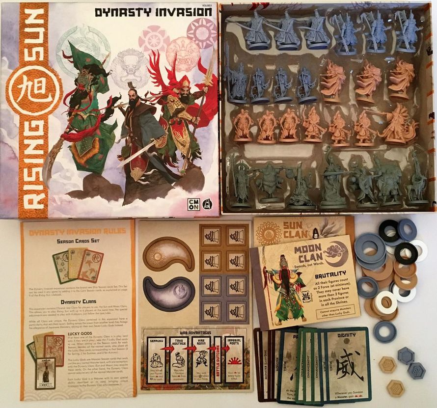Rising Sun: Dinasty Invasion (PHOTO: BGG User: HedgeWizzard)