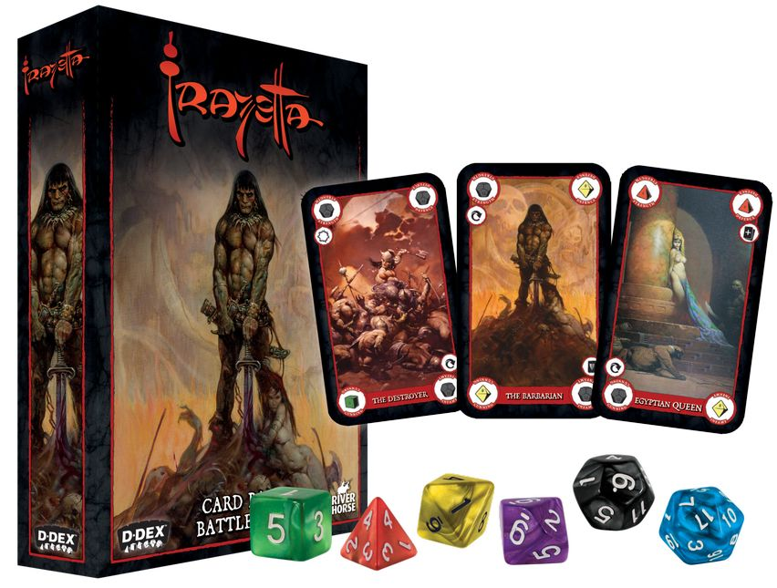 Frazetta Card & Dice Battle Game