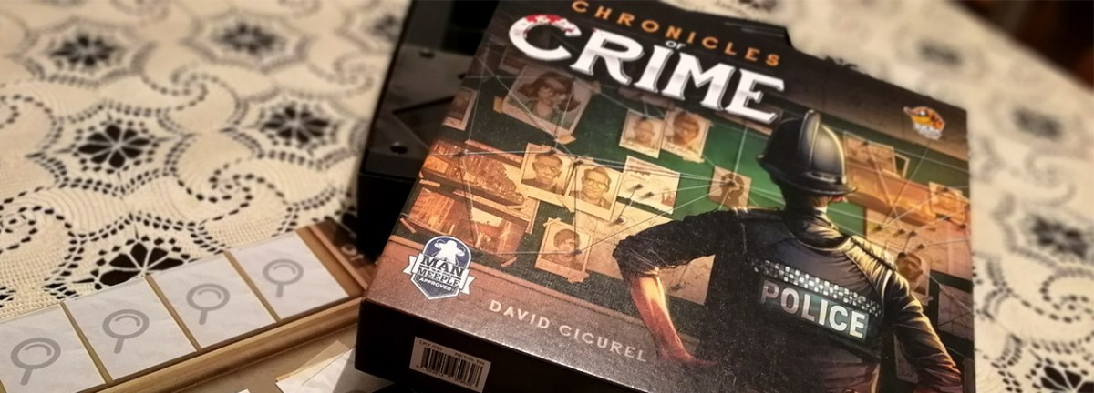 Chronicles of Crime - recenzija