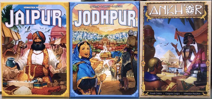 Jaipur, Jodhpur, Ankhor PHOTO: W. Eric Martin (BGG)