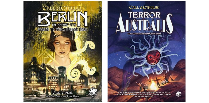 Call of Cthulhu - Berlin: The Wicked City i Terror Australis