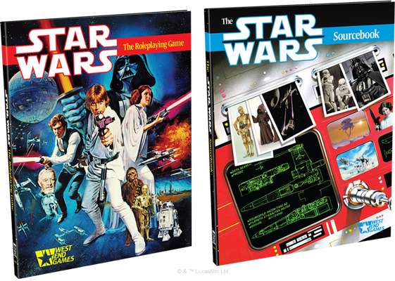 Star Wars d6 30th Anniversary Edition - West End Games & Fantasy Flight Games
