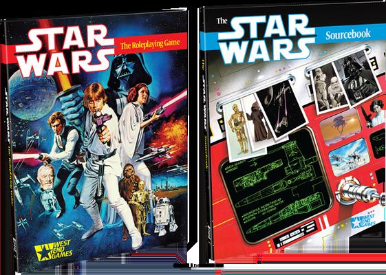 Star Wars d6 30th Anniversary Edition - West End Games & Fantasy Flight Games