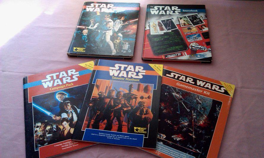 Star Wars d6 - West End Games (PHOTO: spalanz.com)