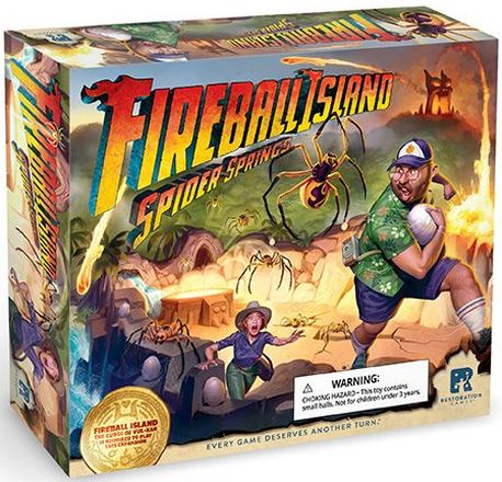 Fireball Island: Spider Springs