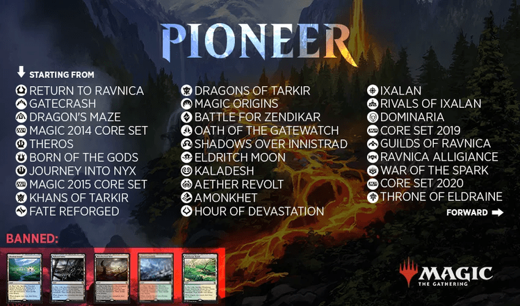 Magic: The Gathering Pioneer format
