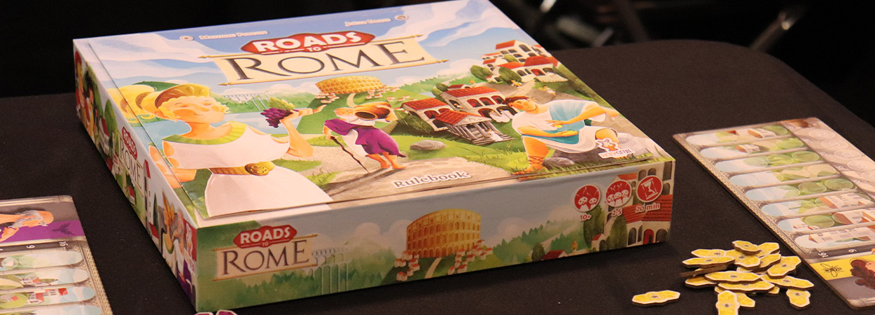 Roads to Rome board game drustvena igra