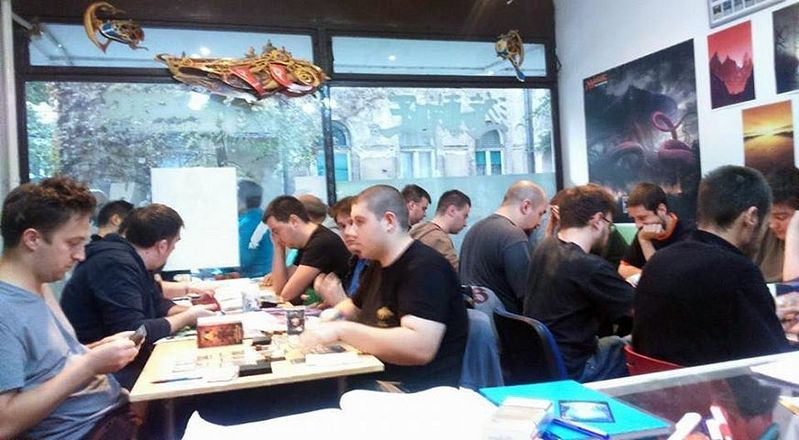 Magic: The Gathering u klubu Conflux