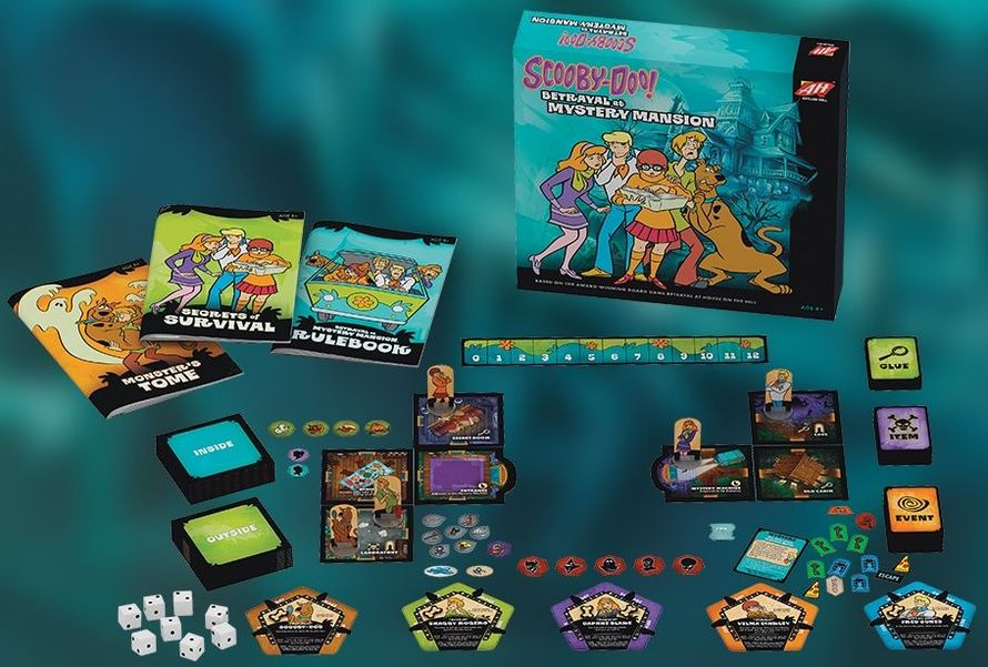 Scooby Doo: Betrayal at Mystery Mansion