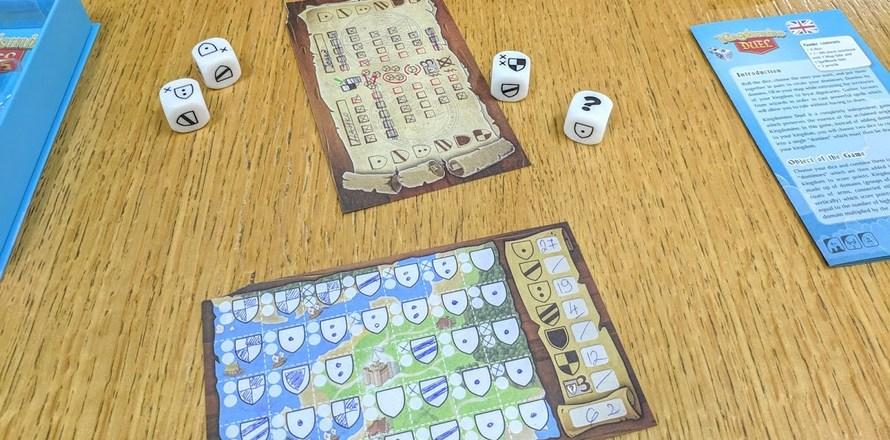 društvene igre za dvoje Kingdomino Duel