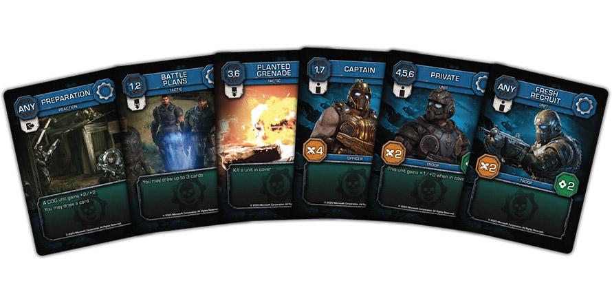 Gears of War Card Game društvena igra