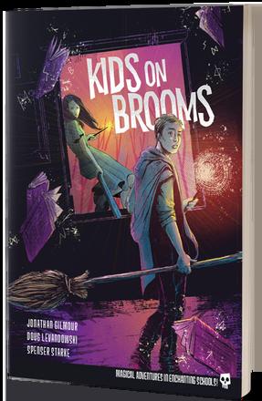 Kids on Brooms