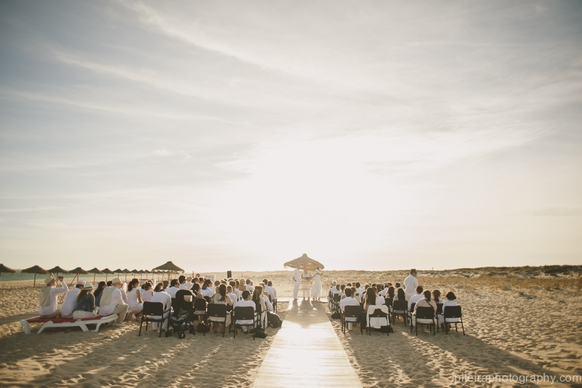 Wedding on the Ilha Deserta, Algarve, Portugal