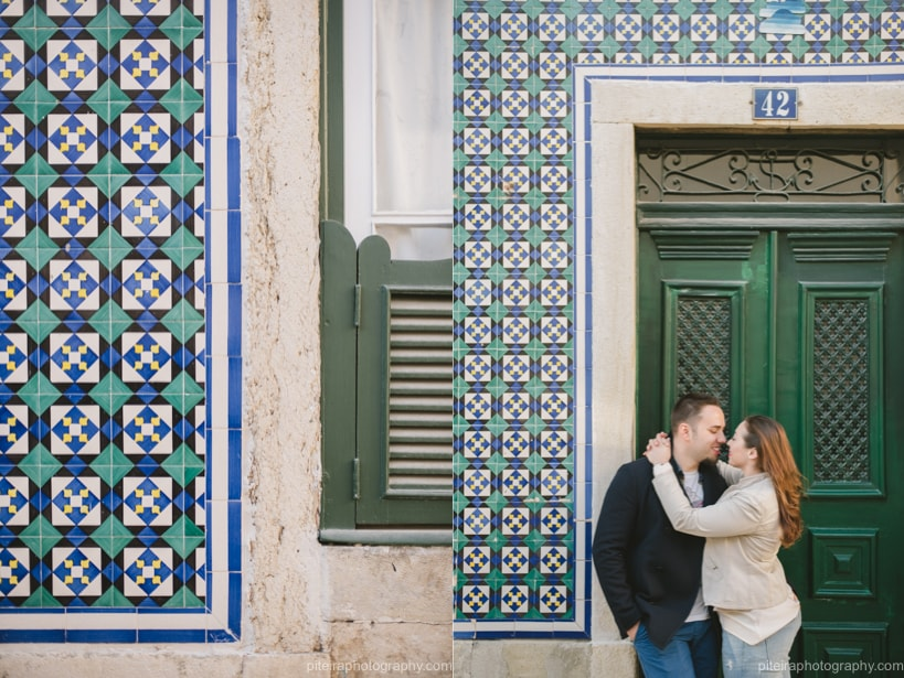 Engagement in Lisbon Portugal