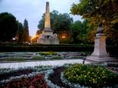 Obeliscul cu lei, Copou Iasi