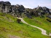 lkley moors ''Cow and calf'' Yorkshire