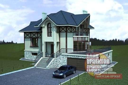Проекты коттеджей и домов бесплатно » Современный дизайн ...