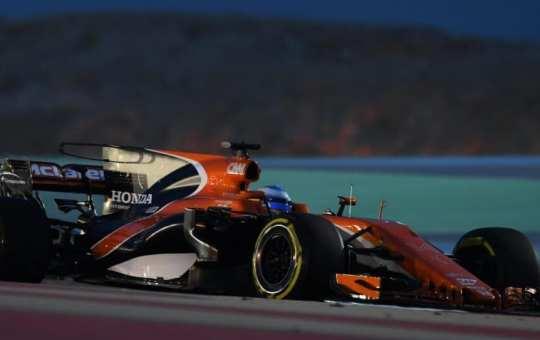Fernando Alonso - McLaren Honda - MCL32 - Gran Premio de Bahréin 2017 - Libres