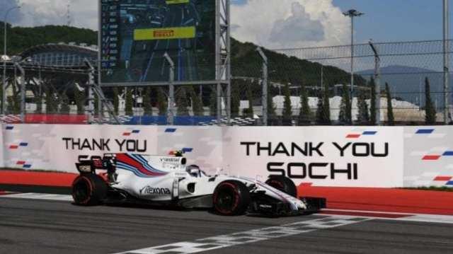 Lance Stroll - Williams - Rusia - Carrera