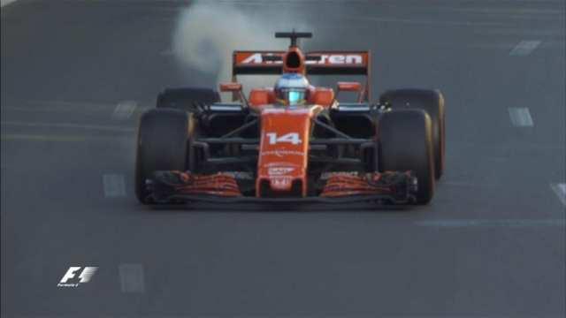 Fernando Alonso - McLaren - Azerbaiyán - Viernes