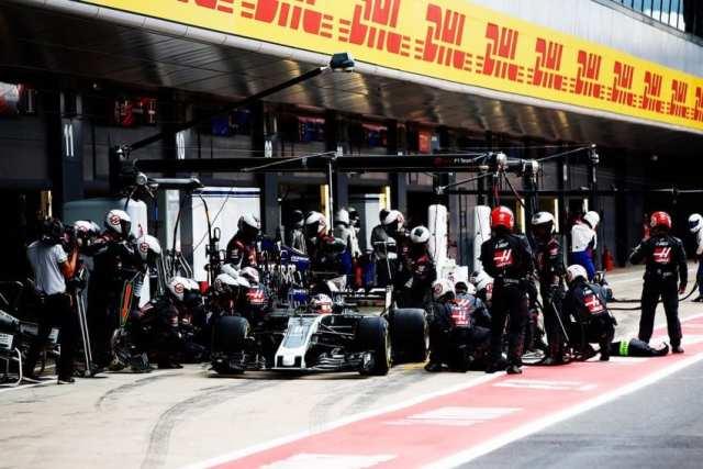 Romain Grosjean - Haas - Gran Bretaña - Carrera