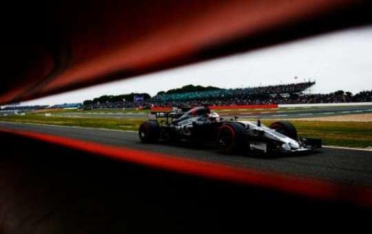 Romain Grosjean - Haas - Gran Bretaña - Sábado