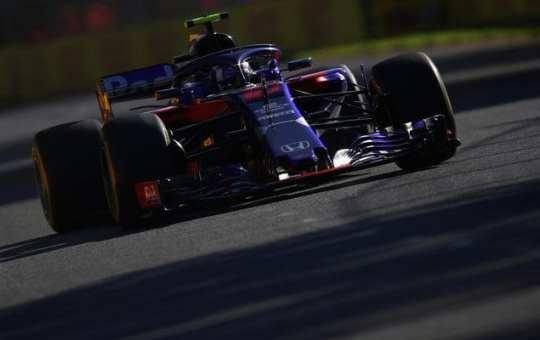 pierre gasly - Toro Rosso - F1 - GP de Australia 2018 - Libres