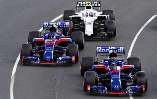 Pierre Gasly y Brendon Hartley - Toro Rosso-Honda - Bahréin - Previo