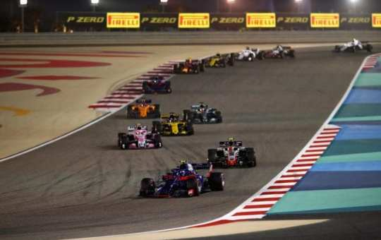 Toro Rosso - Bahréin - Carrera