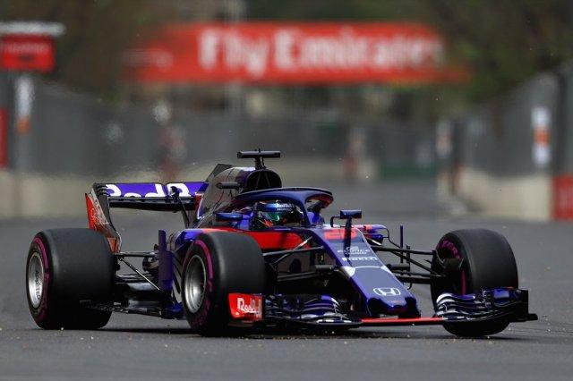 Toro Rosso Azerbaiyán