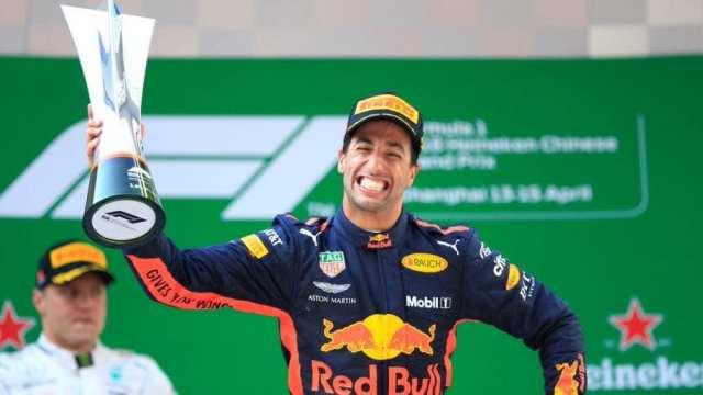 Ricciardo gana el Gran Premio de China