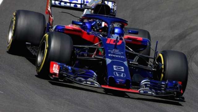 Pierre Gasly - Toro Rosso Honda