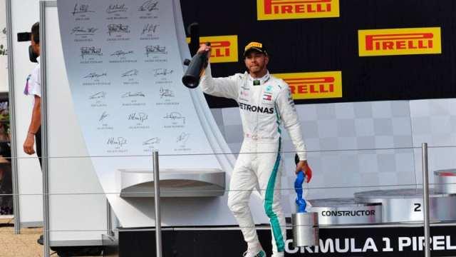 Hamilton gana en el Gran Premio de Francia