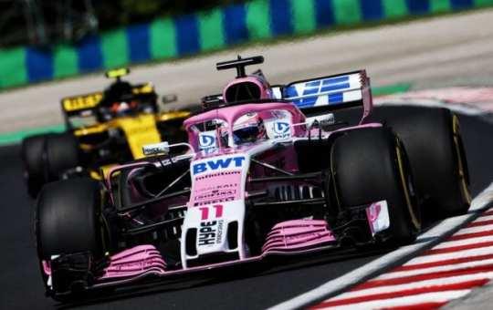 Sergio Pérez - Force India - Hungría - Viernes