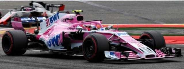 Esteban Ocon - Force India - Bélgica - Carrera