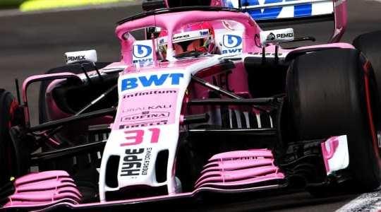 Esteban Ocon - Force India - México - Carrera