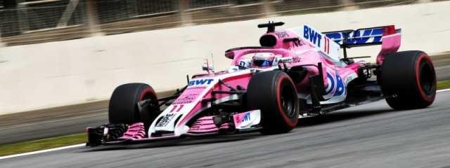 Sergio Pérez - Force India - Brasil - Carrera
