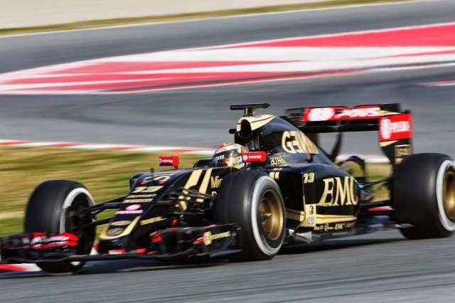 Pastor Maldonado - Lotus - Test invernales 2015