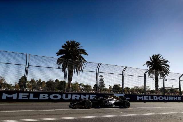 Romain Grosjean - Haas - Australia - Carrera