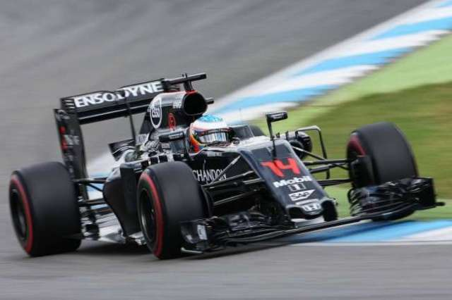 Fernando Alonso - McLaren - Alemania - 2016