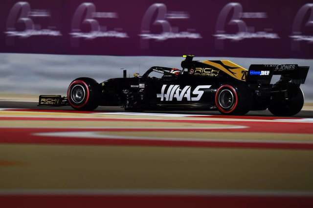 Kevin Magnussen - Haas - Bahréin - Viernes