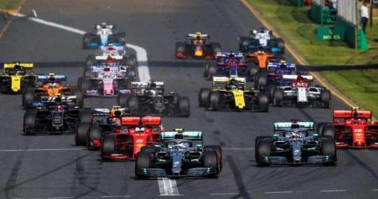 salida gp de australia 2019 f1