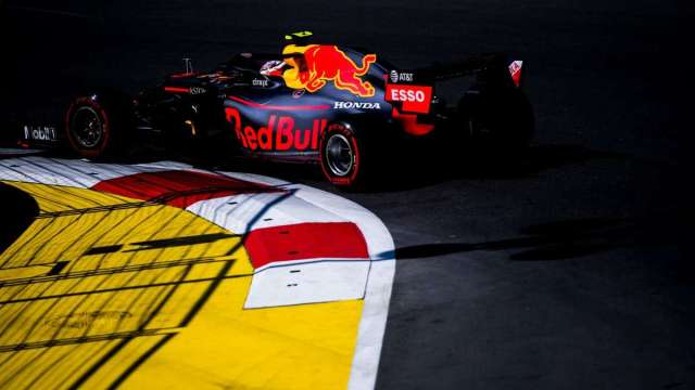 Pierre Gasly - Red Bull Racing - Azerbayán - Carrera
