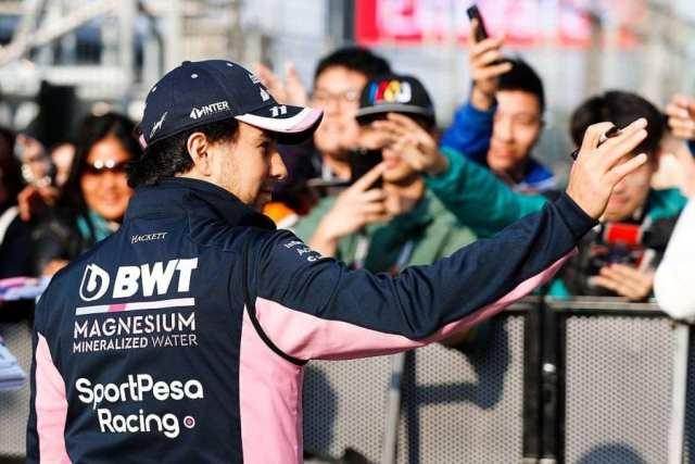 sergio perez - racing point - f1 - gp de china 2019 f1 previa