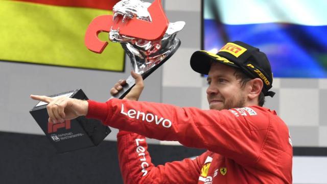 Sebastian Vettel se deshace de sus Ferrari y otros superdeportivos poniéndolos a la venta