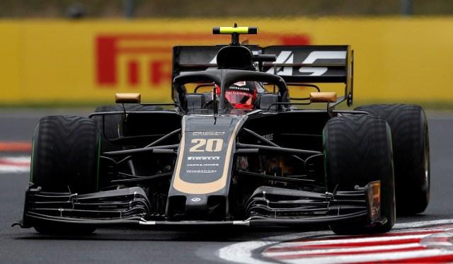 Kevin Magnussen - Haas - Hungría - Viernes