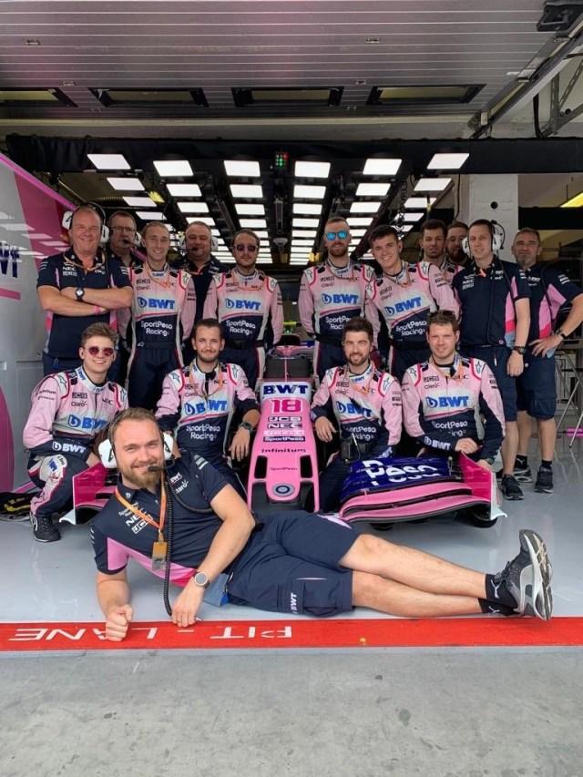 Racing Point - Hungría - Carrera