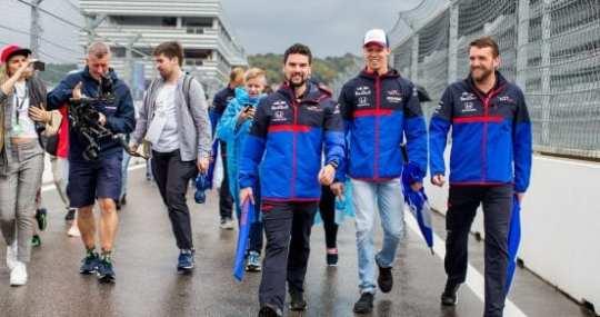 Daniil Kvyat - Toro Rosso - Rusia - Previa