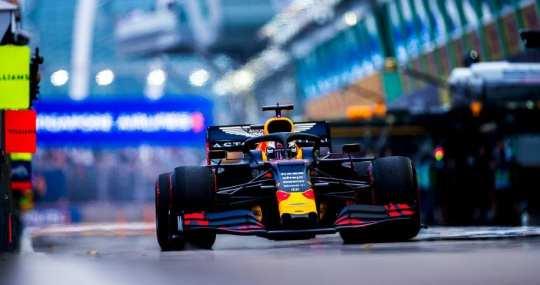 max verstappen - red bull - gp de singapur 2019 f1 libres