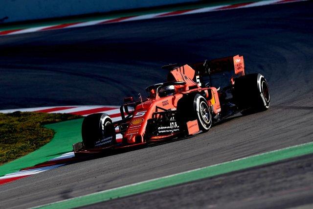 Sebastian Vettel - Ferrari - Test